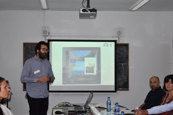 Fabio Cerioni at the InnovaConcrete Madrid Meeting