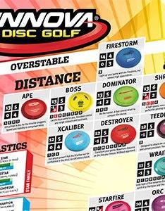 Flight charts also retail digital assets innova disc golf rh innovadiscs