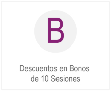 Bonos 10 sesiones