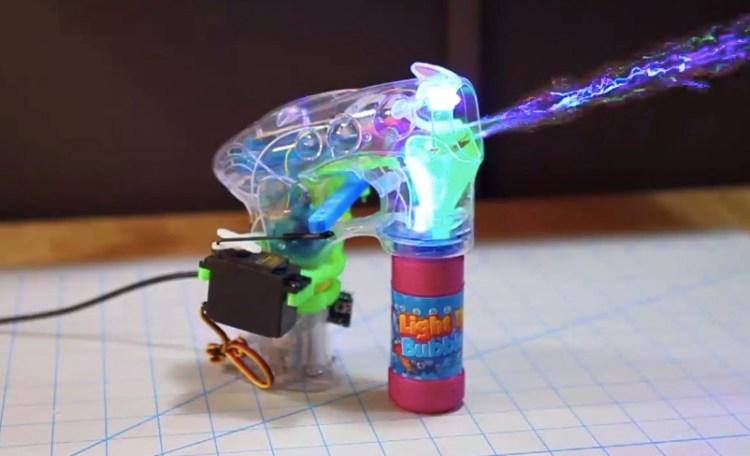 Arduino Bubble Gun