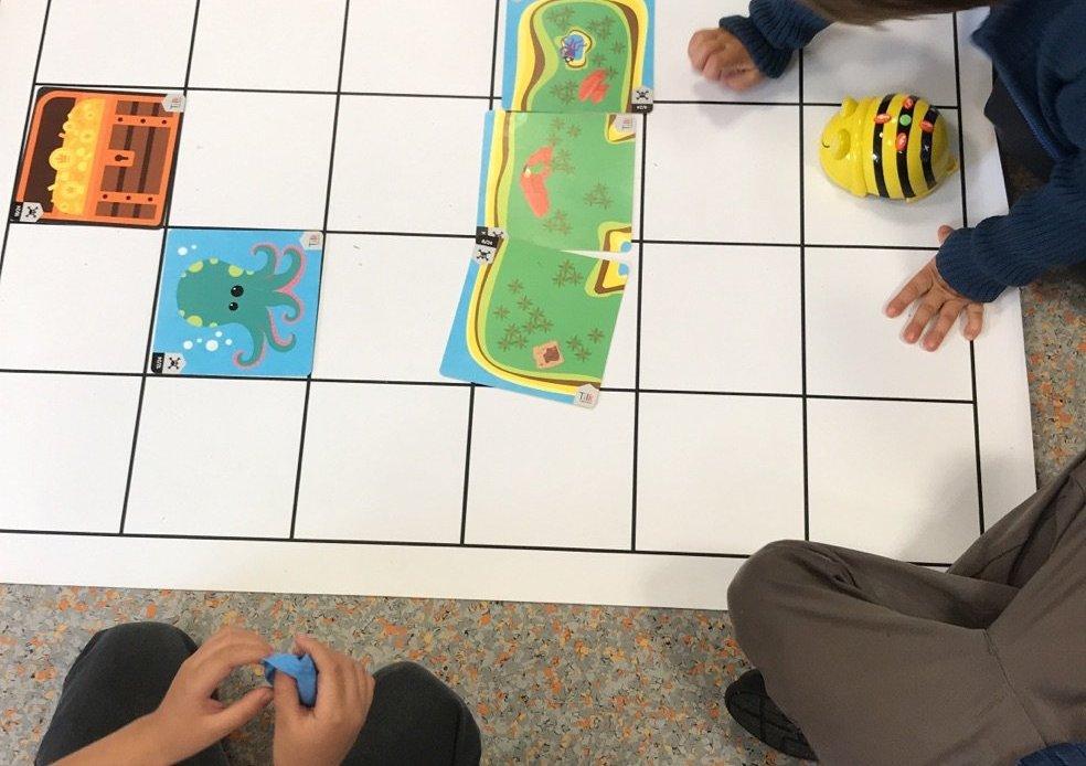 Bee-bot - la búsqueda del tesoro