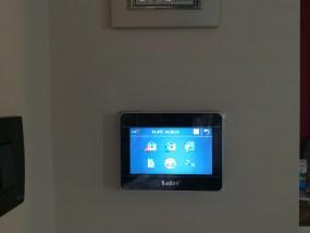 Satel integra alarm system