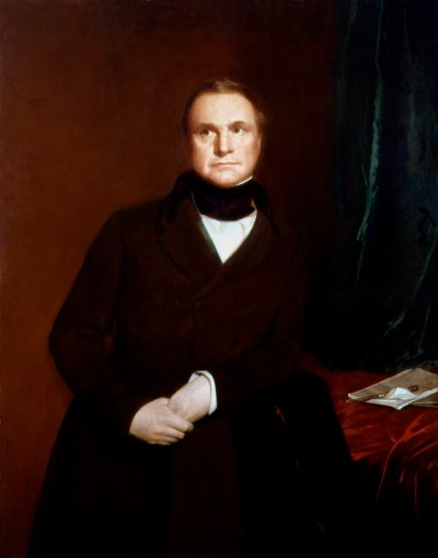 Charles Babbage by Samuel Laurence, oil on canvas, 1845