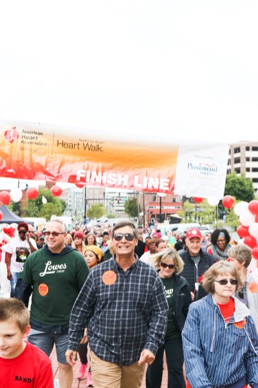 American Association Heart Walk-22