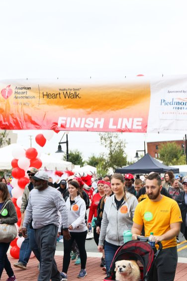 American Association Heart Walk-24