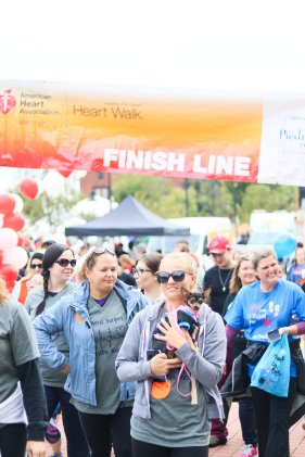 American Association Heart Walk-41