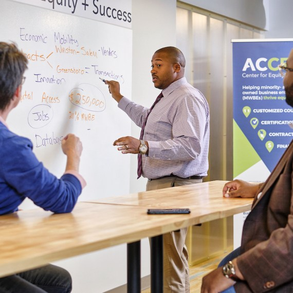 ACCESS Center for Equity + Success fuels the innovation ecosystem in iQ