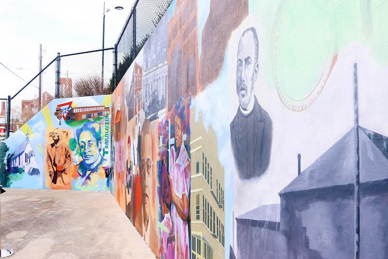 Depot Street Mural