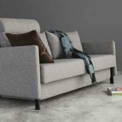 Queen Sofa Bed No Arms Corner And Swivel Chair Cheap Cubed 160 Fabric Arm Innovation Living Melbourne