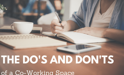 The Do's and Don'ts of a Co-Working Space