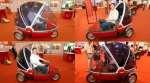 Bubble-bike: US$750 Electric three-wheeler