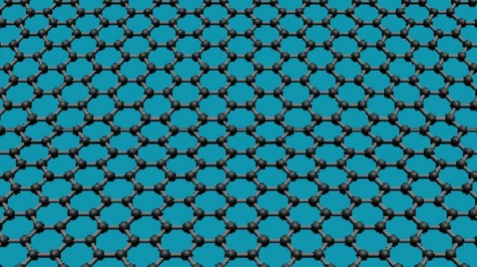 Graphene is a one-atom-thick planar sheet of carbon atoms that are densely packed in a honeycomb crystal lattice (Image: Lau lab UC Riverside)