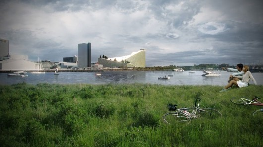 Ski slope power station design headed for Denmark