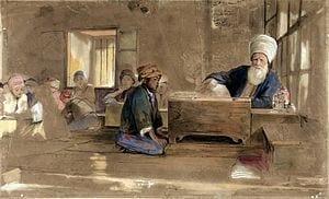 Arab School by John Frederick Lewis