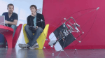 Swiss Flying Torpedo Bot Crashes, Dusts Itself Off and Flies Again