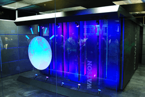 English: IBM's Watson computer, Yorktown Heigh...