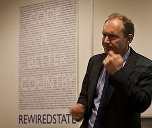HTML Pioneer Tim Berners-Lee Calls For More Online Innovation To Break Down Cultural Barriers And Build New Business Models