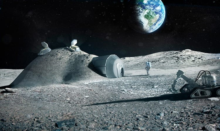 This 3D-Printed Moon Base Might Be The Future Of Space Exploration