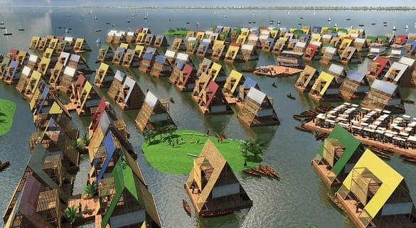 A Floating School That Won't Flood