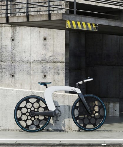 This Slick, Foldable Electric Bicycle Is Almost Impossible To Steal