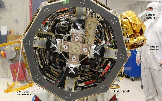 NASA's First Laser Communication System Integrated, Ready for Launch