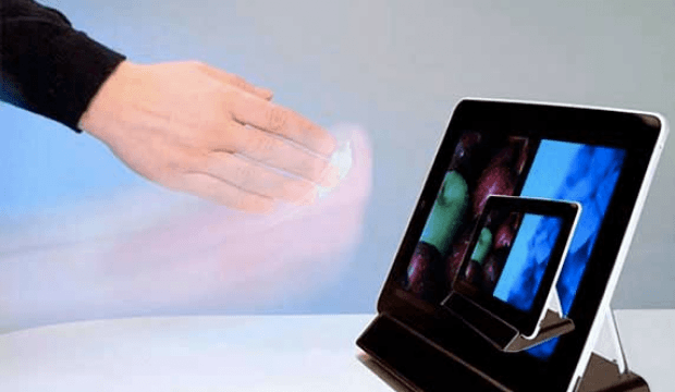 Hover Screen: No More Fingerprints