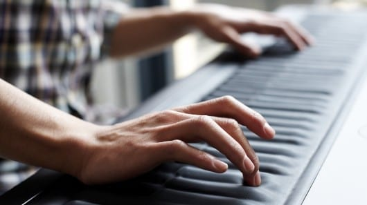 Seaboard GRAND alters notes on the fly with flexible keys