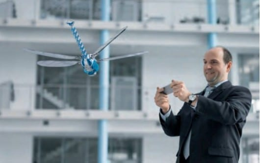 Festo's BionicOpter dragonfly robot