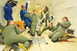 USAFA researchers take invention to zero-gravity