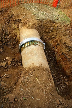 Invention could fix scourge of water pipe leaks