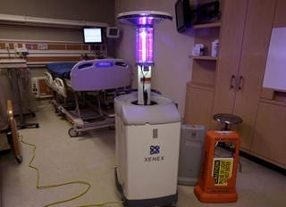 Germ-zapping Robots: Hospitals Combat Superbugs