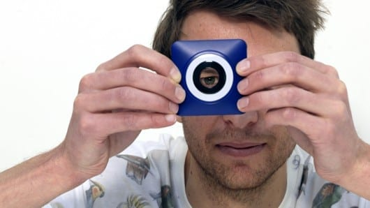 Conran re-imagines the camera … with a big hole