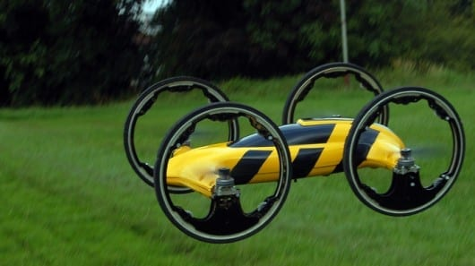 Together at last – an RC car and a quadcopter