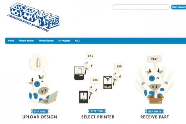 Crowdsourced Marketplace Lets 3D-printers Bid on Buyer's Designs
