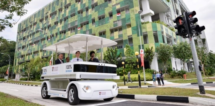 NTU to trial Singapore's first driverless vehicle on the roads