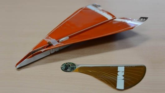 Steerable paper planes and maple seeds the basis for life-saving, disposable UAVs