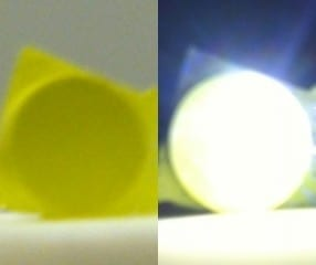 Bright, Laser-Based Lighting Devices
