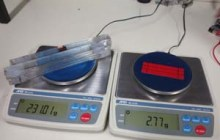 An electrical-stimulated piece of artificial muscle created by the team could lift a load 80 times its weight