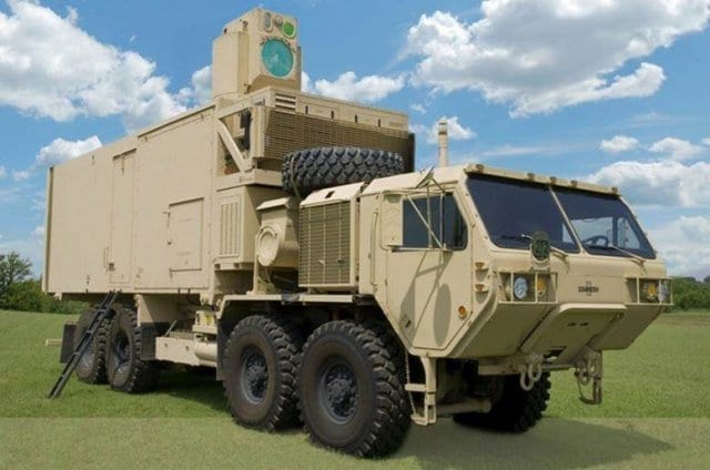 Army tests vehicle-mounted laser against multiple targets