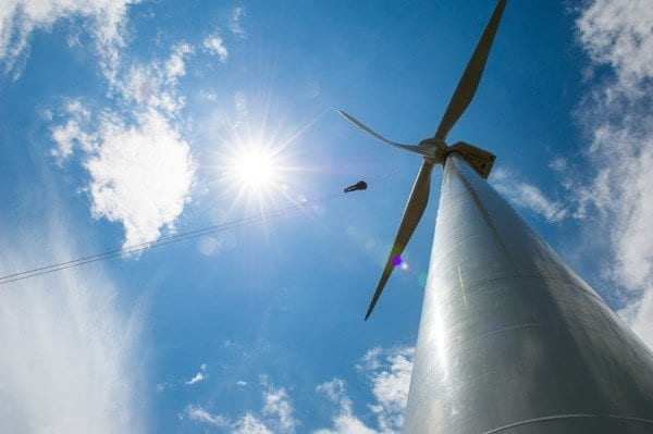 Wind farms can provide a surplus of reliable clean energy to society