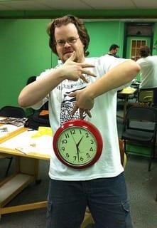 Clock (Photo credit: kc2hmv)