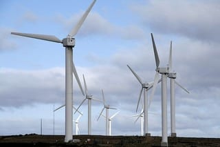 Wind turbines (Photo credit: ali_pk)