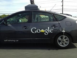 Google's self-driving car (Photo credit: Saad Faruque)