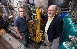 Best-ever efficiency points to clean, green gas-diesel engine