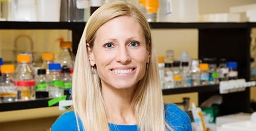 Photo by L. Brian Stauffer University of Illinois kinesiology and community health professor Marni Boppart studies the mechanisms that enable muscles to recover and grow stronger after exercise.