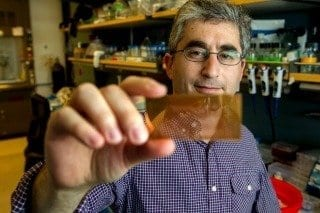 Brian Feldman is one of the inventors of a microchip-based test for diagnosing type-1 diabetes. Norbert von der Groeben