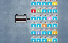 Recycling old batteries into solar cells