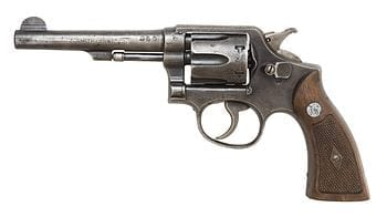 English: Smith & Wession M&P Victory model revolver. (Photo by Oleg Volk) (Photo credit: Wikipedia)