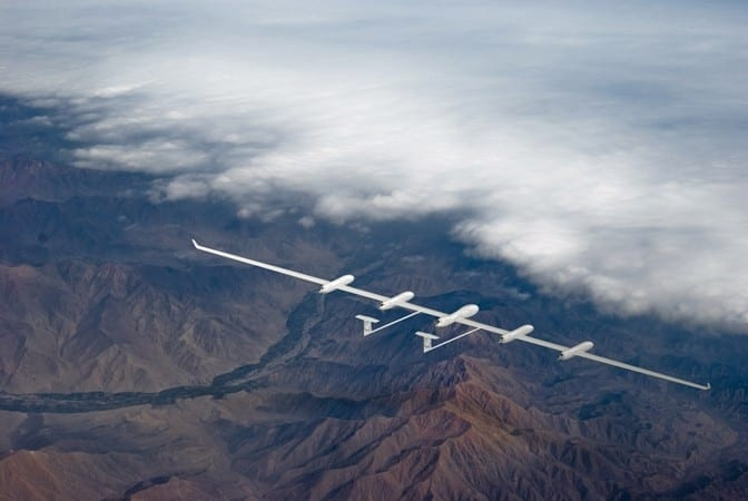 SkyOrbiter UAVs will fly for years at a time and provide global internet access