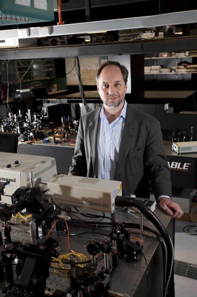 This is Professor Howard Wiseman, Director of Griffith University's Centre for Quantum Dynamics. Credit: Griffith University